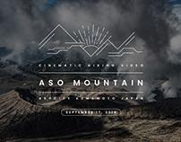 Aso Mountain Kumamoto Japan / Cinematic Hiking Video