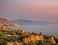 Running Shots On The Great Salt Lake