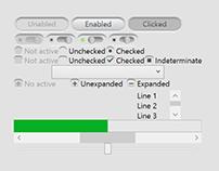 XAML WPF (XBAP) UI Controls styles