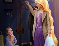 A fairy mom