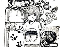2014 pen drawings