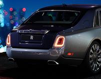 2018 Rolls Royce Phantom / 3D Renders