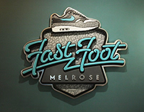 Fast foot sign