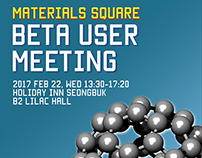 First User Meeting poster