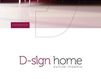 D-sign Home Kurumsal Kimlik