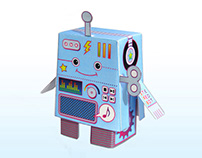 Stereobot Papertoy