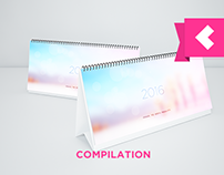 Design & Illustration Compilation Calendar 2016