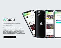 CUJU - Mobile App Design