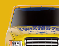 Twisted Tea Display Stand