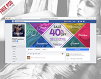 Free PSD : Facebook Cover photo for Fashion Sale PSD