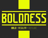 BOLDNESS - FREE FONT