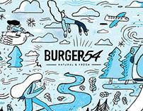 Vasos coleccionables - Burger54