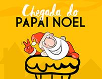 Campanha - Chegada Papai Noel