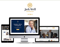 Jack Well | Elections Campaign & Political WP Theme