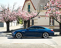 BMW 6 Series - Burgundy