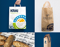 KRAJ - Grocery Store Branding