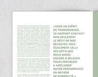 Rapport de développement durable | KRUGER
