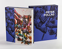 Designing a Book for the painter Peter Pollág