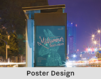 POSTER DESIGN: Midsummer Night's Dream Ballet