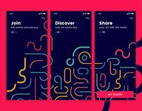 Art App - Onboarding Screens