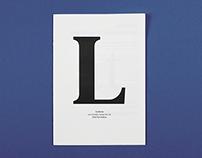 [specimen] Leitura - a typeface by Dino Dos Santos