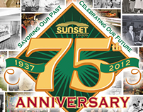 Sunset Foods 75th Anniversary Section