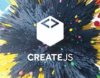CreateJS Poster
