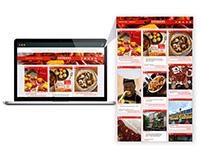 Zatarain's Tumblr Site Design