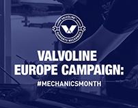 Valvoline Europe campaign: #MECHANICSMONTH