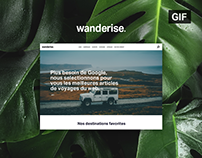 Wanderise - Online travel guide