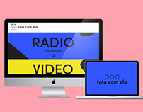 Fala Com Ela Website