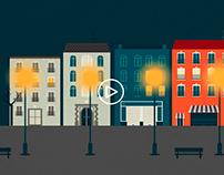 Iluminación Urbana Inteligente - Vídeo
