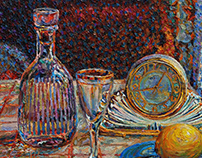 Still life with a carafe