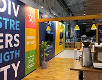 WebSummit 2018: 400sqm Lounge Branding