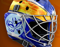 Goalie Mask Designes 2017