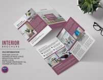 Interior Design Brochure Template