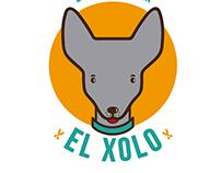 El Xolo estética canina logotipo