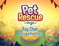 Art Lead Portfolio Pet Rescue Saga