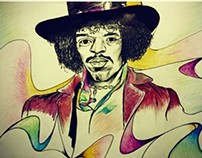 jimmy hendrix portrait