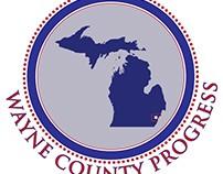 Wayne County Progress Logo & Invitation Design