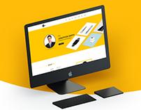 Man- Personal CV/Resume PSD Template