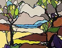 painting  ( acrylique sur toile )