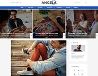 Paperio - Wordpress Blog Theme - Angela