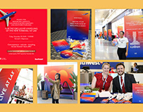 LAX Terminal 1 Unveiling Event Graphics
