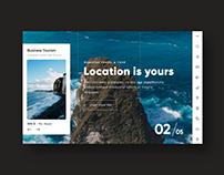 UX/UI Website Designer (Travel & Tour)