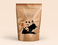Branding and Packaging Béa Tea from China.