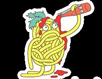Labas & Viber Stickers: Mr. Noodle