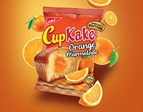 Cupkake Marmalade packaging and launching KV