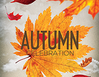 Autumn/Fall Party Flyer Template