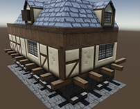 Medieval House building assets